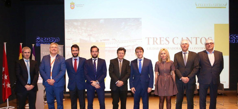 Tres Cantos destaca su perfil innovador como ciudad atractiva para invertir