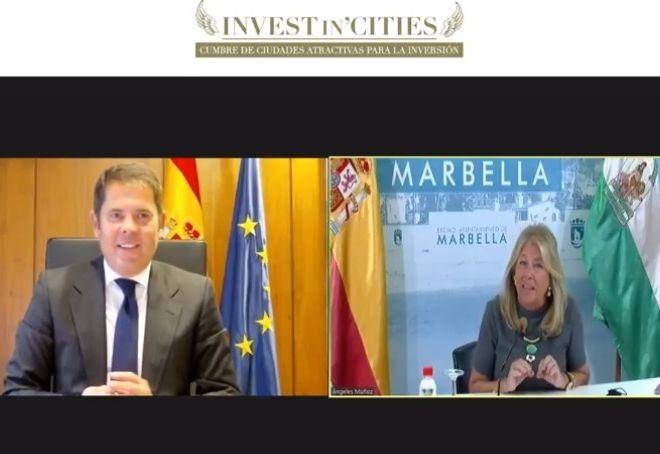 La-alcaldesa-de-Marbella_-Angeles-Muñoz-y-el-presidente-de-CEPYME_-Gerardo-Cuerva-participan-en-el-